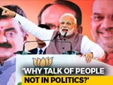 "Video : ""Why Drag In My Parents"": PM Hits Back After Congress Leader's Remarks"