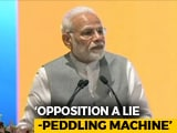 "Video : ""Some Opposition Leaders Fire Off Lies Like AK-47"": PM Modi"