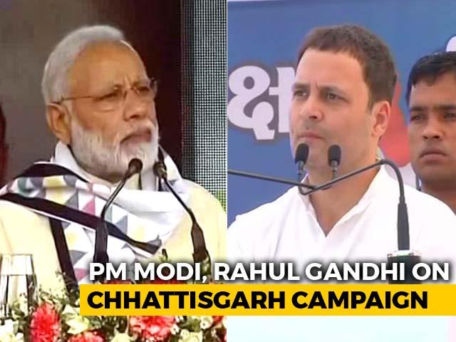 Video : PM Modi, Rahul Gandhi To Launch Campaign For Chhattisgarh Polls Today