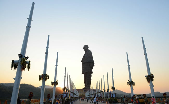 30,000 Come To See Statue Of Unity Every Day, Gujarat Officials Say