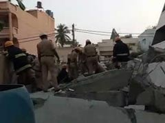 Man Killed In Bengaluru Building Collapse, Rescuers Look For Survivors