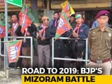 Video: To Win In Mizoram, Parties Look For Support From Civil Society Groups