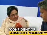 "Video : Congress, BJP Are <i>""Saanpnath-Naagnath""</i>: Mayawati On Tie-Ups After Polls"