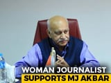 "Video : MJ Akbar A ""Thorough Gentleman"": Woman Journalist To Court In #MeToo Row"