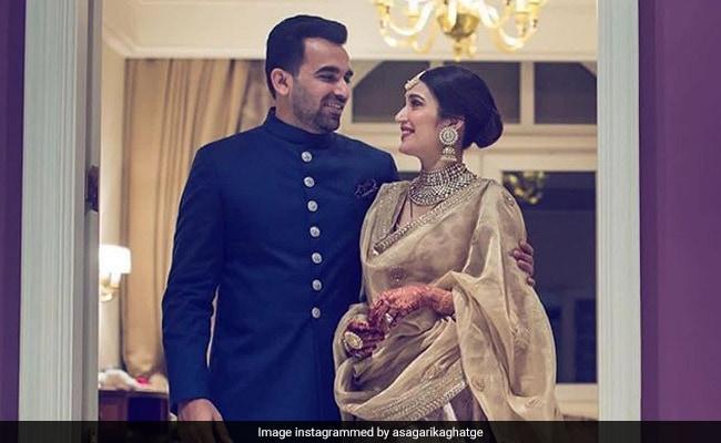 Sagarika Ghatge And Zaheer Khan Celebrate Anniversary With Throwback Wedding Pic