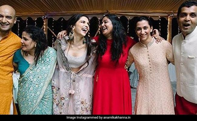 New Pic Of Deepika Padukone From Wedding Festivities Shared By Designer - No, It's Not Sabyasachi