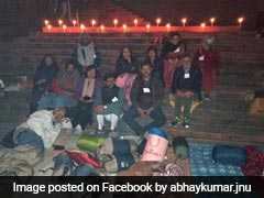 JNU Teachers Go On Hunger Strike Over Compulsory Attendance