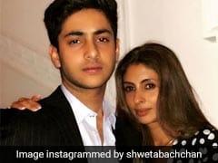 Shweta Bachchan Nanda's Birthday Post For Son Agastya Reveals He 'Hasn't Changed' In 14 Years