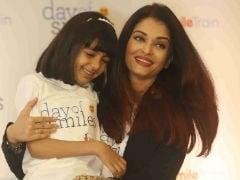 Aishwarya Rai Bachchan, Aaradhya Spread Lots Of Smiles On Krishnaraj Rai's Birth Anniversary