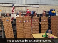 Teachers Dressed As 'Mexicans', The Wall On Halloween. It Didn't Go Well