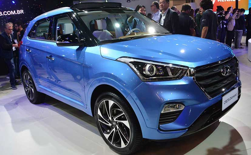 The Hyundai Creta Diamond Concept was specifically built for the Brazilian auto show