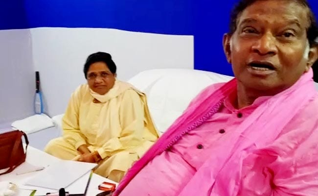 Alliance With BJP? Ajit Jogi Tweaks His Comment In Mayawati's Presence