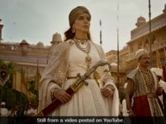 Kangana Ranaut's <i>Manikarnika</i>: Workers' Union Stalls Shoot Due To Non-Payment Of Dues