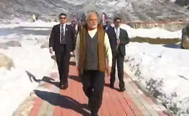 PM Modi Celebrates Diwali With Soldiers, Visits Kedarnath Temple: Updates