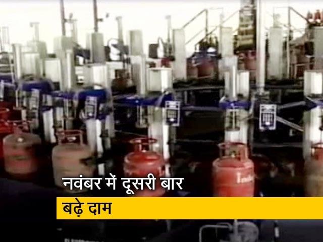 Videos : न्यूज टाइम इंडिया : रसोई गैस सिलेंडर 2 रुपये महंगा
