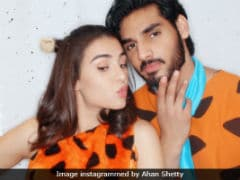 Suniel Shetty's Son Ahan Shares Belated Halloween Post With Rumoured Girlfriend. Seen Yet?