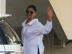 Deepika Padukone And Ranveer Singh Drop By Sanjay Leela Bhansali's House Days Before Wedding