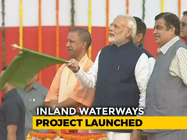 Video : PM Modi Unveils Inland Port In Varanasi, Will Connect To Waterway-I