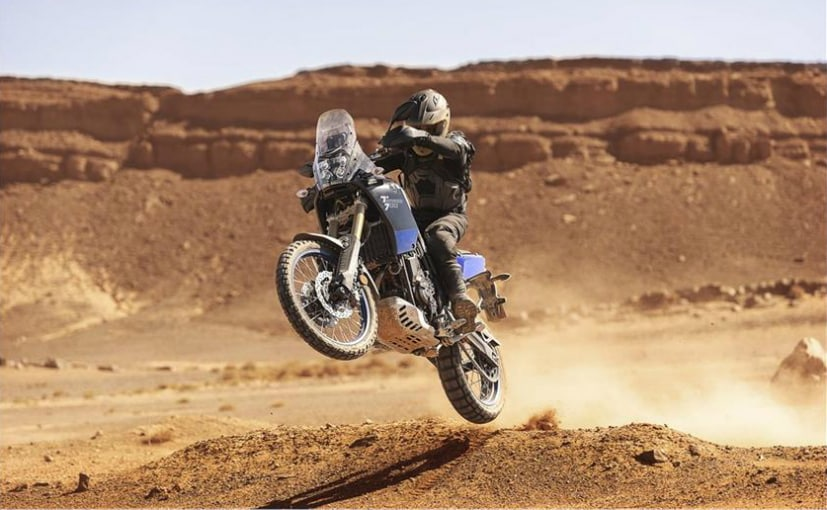 The production ready model of the Yamaha Tenere 700 adventure bike has been unveiled