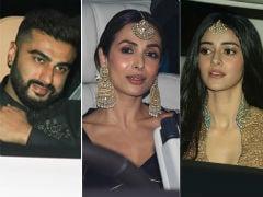 Arjun Kapoor, Malaika Arora, Karan Johar, Ananya Panday: Guests At Designer Abu Jani And Sandeep Khosla's Grand Diwali Party