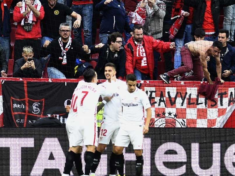 Sevilla Go Top Of La Liga After Narrow Win Over Real Valladolid
