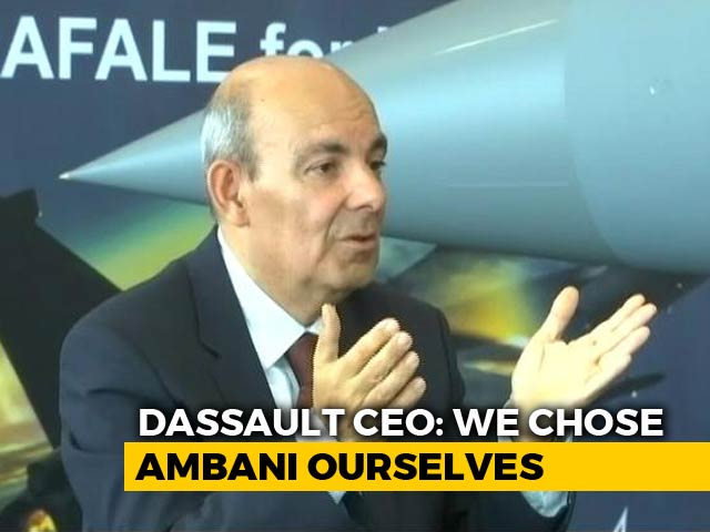 Video : Dassault CEO Eric Trappier Counters Congress' Allegations On Rafale Deal