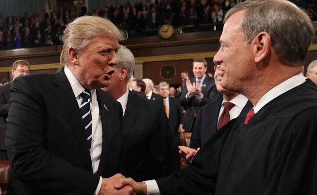 US Chief Justice Rebukes Trump's Criticism, Says Judiciary 'Independent'