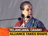 Video: Rahul, Sonia Gandhi On The Campaign Trail In Telangana