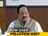 Video : Only Delhi Minister Answers Centre's Call, 4 States Skip Pollution Meet