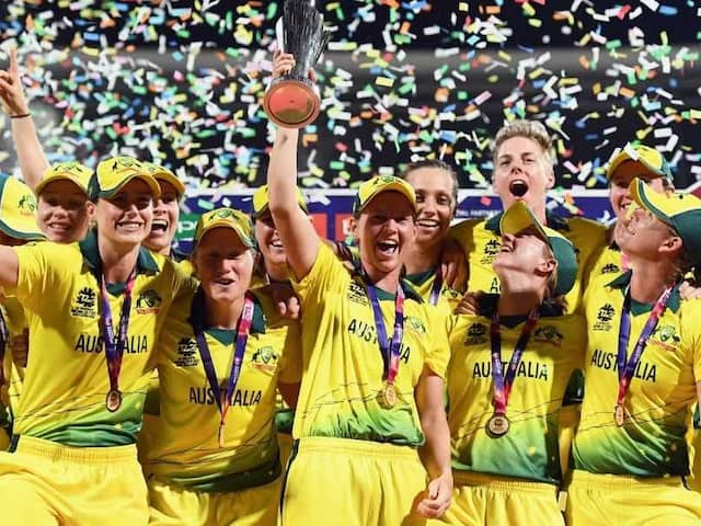 Australia Beat England To Lift Their Fourth ICC Womens World T20 Title