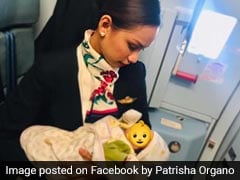 Flight Attendant Breastfeeds Baby After Mum Runs Out Of Formula Mid-Air