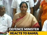 "Video : Nirmala Sitharaman Attacks Congress, Says Rahul Gandhi Is ""Confused Man"""