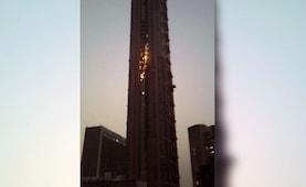 'The 42' Fire: আগুন নিয়ন্ত্রণে এল শহরের উচ্চতম বহুতল 'দ্য ৪২'তে