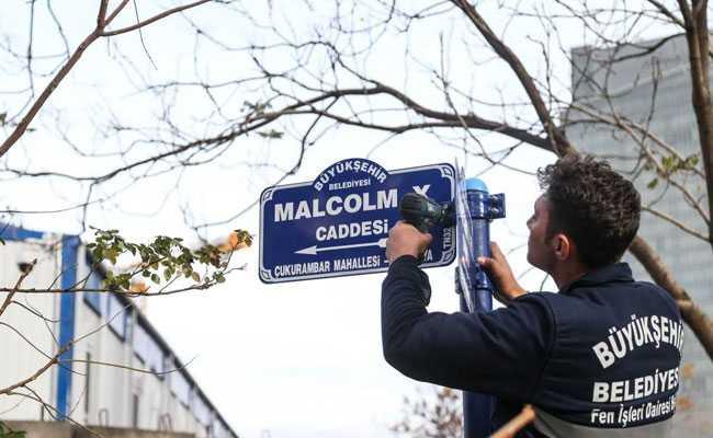 Turkey Renames US Embassy Street After Civil Rights Activist Malcom X