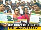 Video : Tipu Sultan Jayanti: BJP To Step Up Protest, Hits Out At HD Kumaraswamy