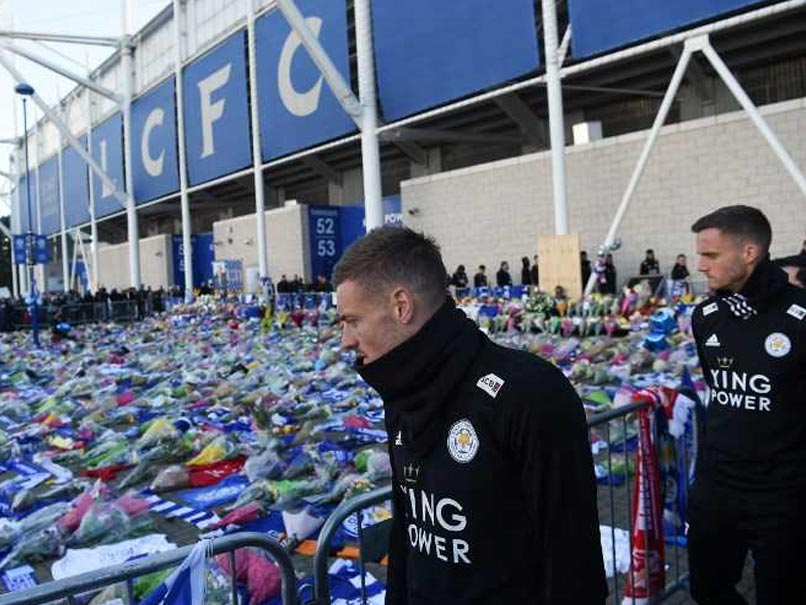 "Jamie Vardy Urges Leicester City To ""Do Vichai Proud"" After Helicopter Tragedy"