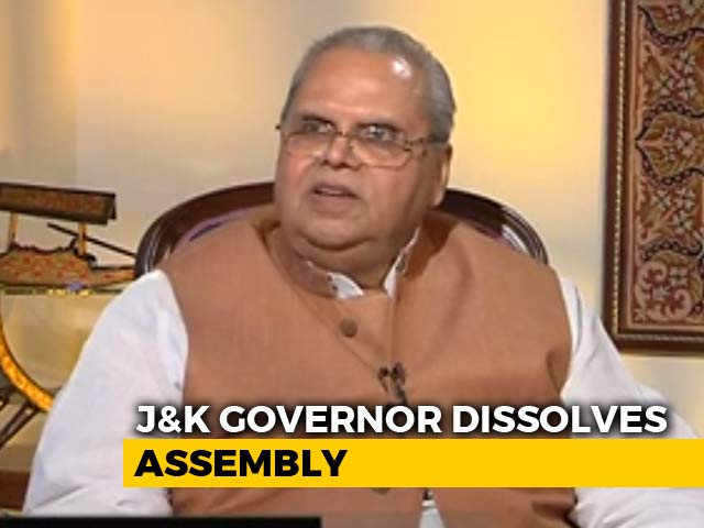 Video : What Next For J&K After Governor Dissolves Assembly?