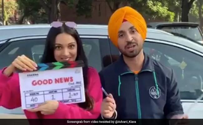 Kiara Advani And Diljit Dosanjh Start Shooting For Good News. Kareena Kapoor And Akshay Kumar To Join The Team Later