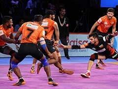 Pro Kabaddi League: U Mumba Defeat Bengaluru Bulls In Inter-Zonal Clash
