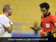 Watch: Wesley Sneijder Threatens To Quit Qatar In Furious Rant After Red Card, Tweets Apology