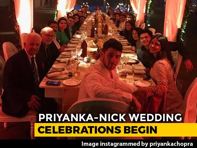 Priyanka Chopra And Nick Jonas' Wedding Celebrations Begin With Puja