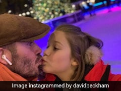 David Beckham ने किया बेटी के होठों पर Kiss तो मचा बवाल, लोगों ने दिया ऐसा रिएक्शन