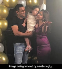 Sakshi Dhoni Singing And Other Fun Moments From Her Birthday Party