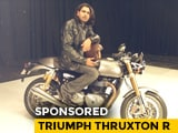 Video : Sponsored: Triumph Thruxton R