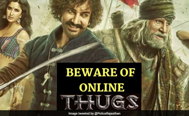 Rajasthan Police's Message On Cyber Safety Has A Thugs Of Hindostan Twist