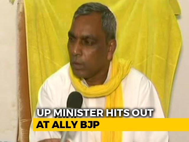 Video : BJP Should Change Names Of Its Muslim Leaders, Says Ally OP Rajbhar