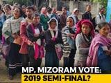 Video: Madhya Pradesh, Mizoram Vote After High-Decibel Campaigns