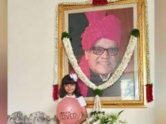 Aishwarya Rai Bachchan And Daughter Aaradhya Remember Krishnaraj Rai On His Birth Anniversary