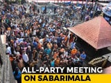 Video : On Sabarimala Issue, Kerala Government Calls All-Party Meet Today