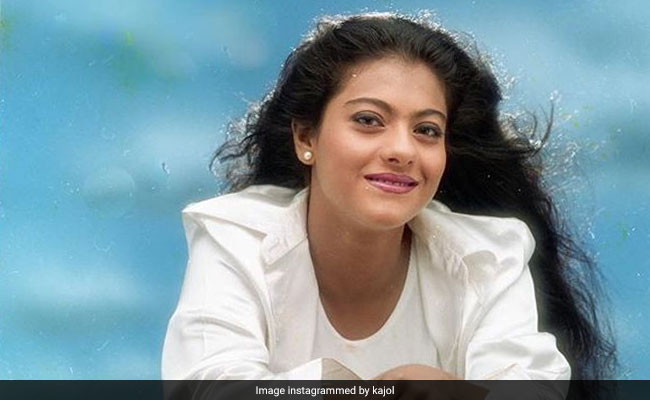 Kajol Shares A Throwback Pic From The Sets Of A Nineties Film. Can You Guess It?